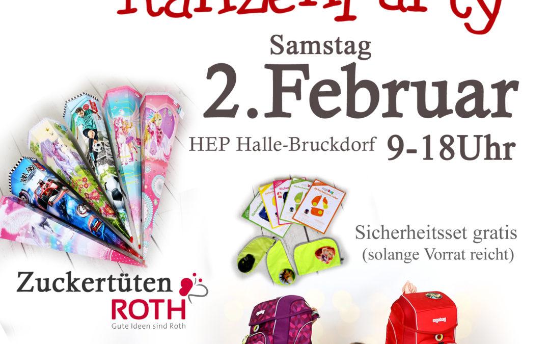 Ranzenparty am 02.02. in Halle